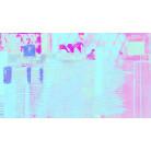 Rhombus Hiding bleu-pink