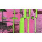 Cuboids Linedup pink-green