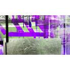 Alleys Rainy violett-green