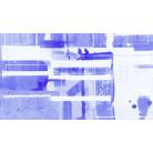 Bars Floating blue-white