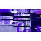 Bars Floating blue-violett
